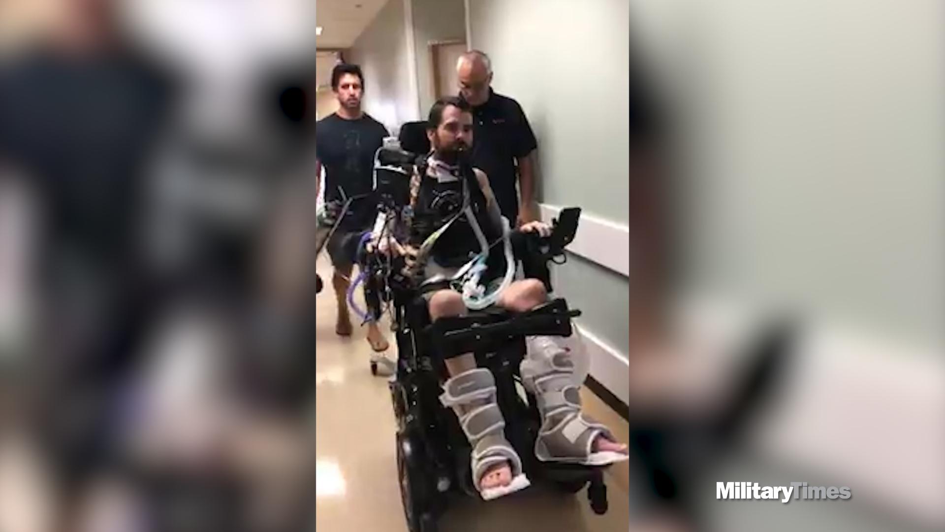 Paralyzed EOD tech transferring closer to home